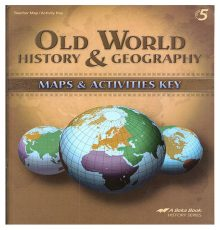 ABEKA HISTORY 5 MAPS/ACT KEY