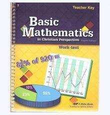 ABEKA BASIC MATH TEACHER KEY