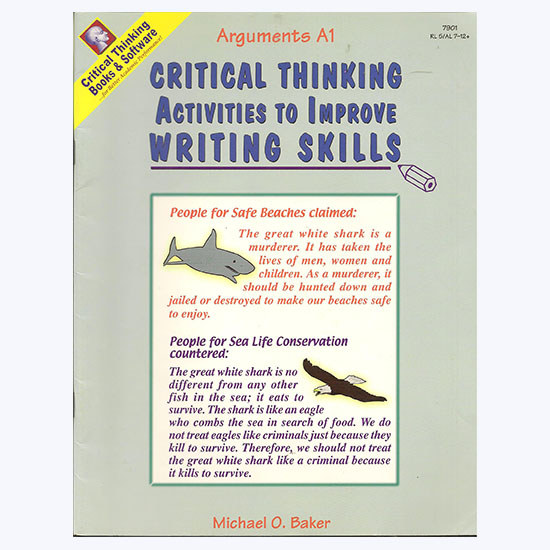 critical thinking flaws in arguments Logical and critical thinking the university of auckland good and bad arguments we now have all the ingredients to be able to tell when arguments are good or bad.