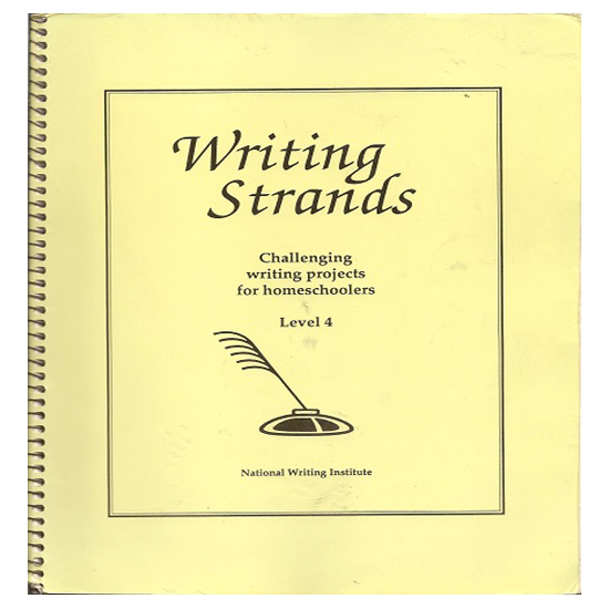 Writing Strands Level 4 for age 13-14 - Homeschool Middle High School