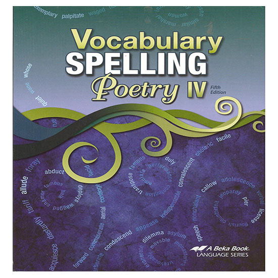 ABEKA VOCAB SPELLING POETRY IV