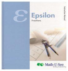 MATH U SEE EPSILON INS MAN 2012
