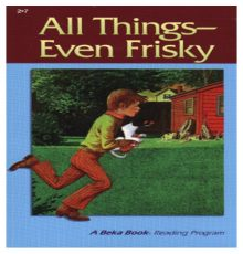 ABEKA ALL THINGS EVEN FRISKY