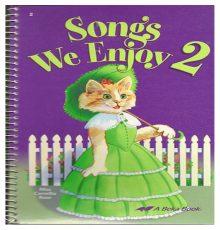 ABEKA SONGS WE ENJOY 2 BOOK
