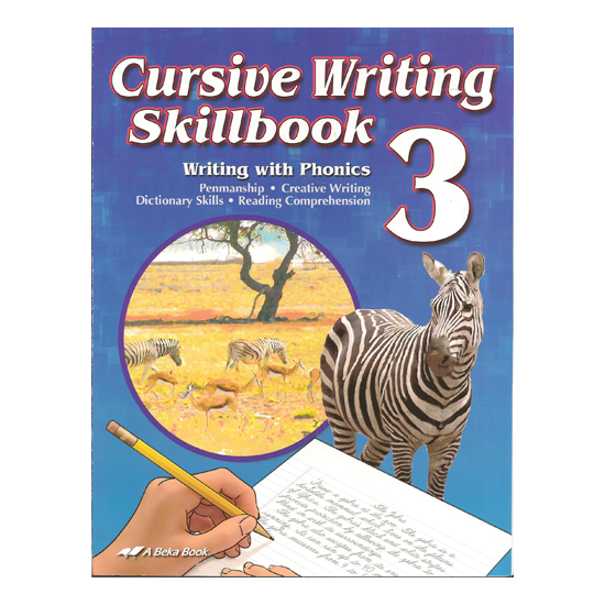 abeka cursive writing skillbook second harvest curriculum. Black Bedroom Furniture Sets. Home Design Ideas