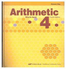 ABEKA ARITHMETIC 4 A.K.
