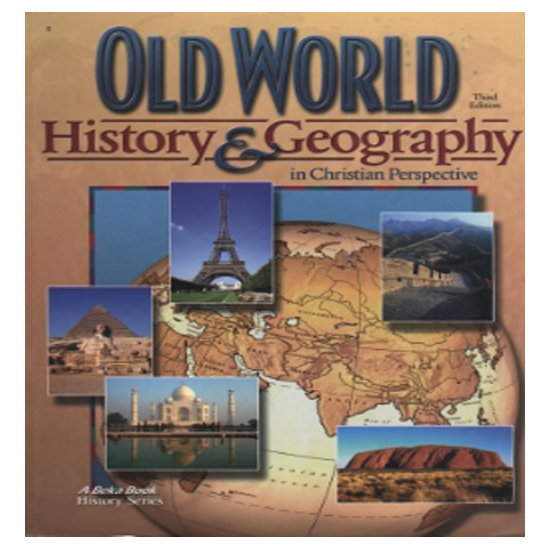 Abeka World History and Cultures Text Book 10th Grade Current Edition