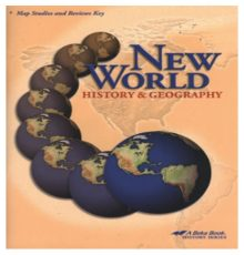 ABEKA  HISTORY  MAP RVW KEY