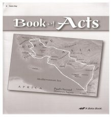 ABEKA BOOK OF ACTS TEST KEY