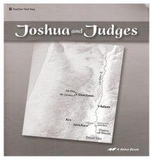 ABEKA JOSHUA & JUDGES TEST KEY
