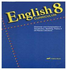 ABEKA ENGLISH 8 CURR
