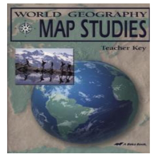 Abeka world geo map study key second harvest curriculum abeka world geo map study key gumiabroncs Image collections
