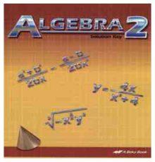 ABEKA ALGEBRA 2 SOLUTION KEY