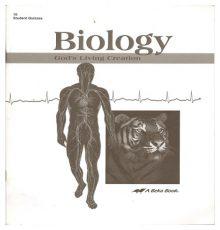ABEKA BIOLOGY QUIZ BOOK
