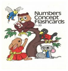 ABEKA NUMBERS CONCEPT FLASHCARD