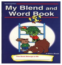 ABEKA MY BLEND AND WORD BOOK