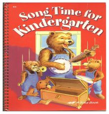ABEKA SONG TIME FOR K5 BOOK