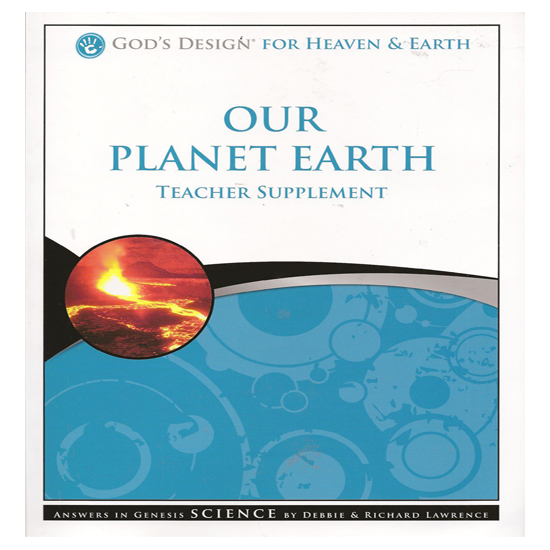 Answers In Genesis Planet Earth Second Harvest Curriculum