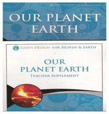 ANSWERS IN GENESIS PLANET EARTH