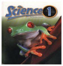 BOB JONES SCIENCE 1 TEXT*