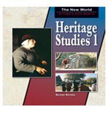 BOB JONES HERITAGE STUDIES 1