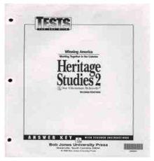 BOB JONES HERITAGE STUDY A.K.