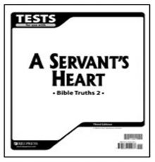 BOB JONES BIBLE TRUTHS 2 TESTS