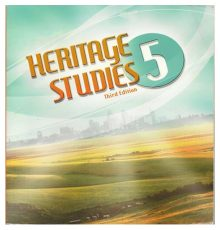 BOB JONES HERITAGE STUDIES TXT