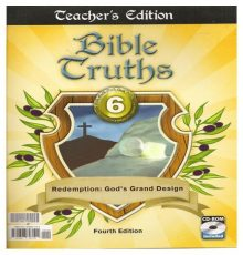 BOB JONES BIB TRUTHS 6 4TH ED