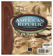 BOB JONES  AMERICAN REPUBLIC TE