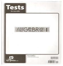 BOB JONES ALGEBRA 1 TEST