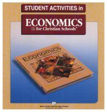 BOB JONES ECONOMICS ACT STUDENT