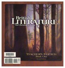 BOB JONES BRITISH LITERATURE TE