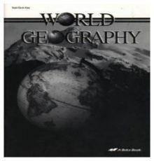 ABEKA WORLD GEOGRAPHY T/ QZ KEY