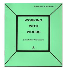 PATHWAY  WORKING WITH WORDS TE