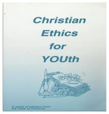 Christian Ethics for Youth Text