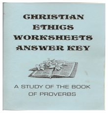 Christian Ethics for Youth AK
