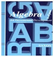 SAXON ALGEBRA 1/2 2ND EDITION