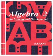 SAXON ALGEBRA 2 2ND EDITION