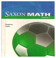 SAXON MATH COURSE 1 TEXT