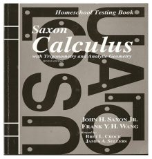 SAXON CALCULUS TEST BOOK