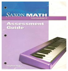 SAXON INTERMEDIATE 4 ASSESS GUI