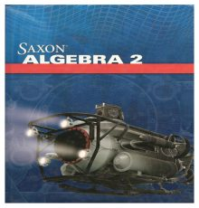 SAXON ALGEBRA 2 TEXT