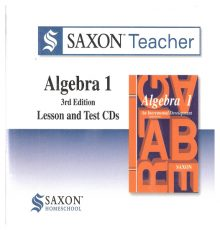 SAXON ALGEBRA 1TEACHER  CDS