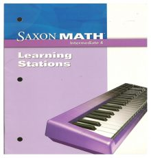 SAXON INTERMEDIATE 4 LEARN STAT