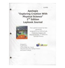 APOLOGIA PHY SCI LAPBOOK